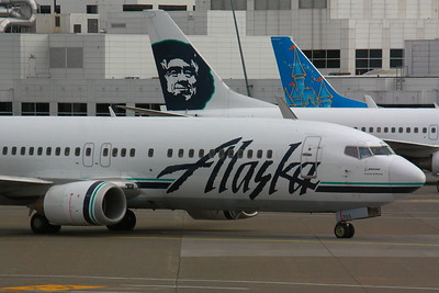 'Alaska Air' at KSEA (Seattle/Tacoma International Airport)