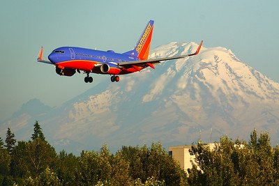 N200WN - Southwest Airlines - Boeing 737-7H4 - On Final for KSEA (Seattle-Tacoma International Airport ) Runway 34R