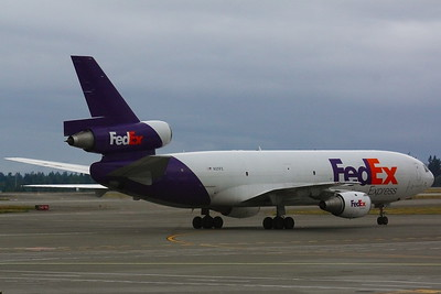 N371FE - FedEx Express -  McDonnell Douglas MD-10-10F - Arriving at KSEA (Seattle/Tacoma International Airport)