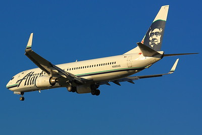 N560AS - 'Alaska Air'  -  Boeing 737-890  -  On Final for KSEA (Seattle/Tacoma International Airport) Runway 34C!