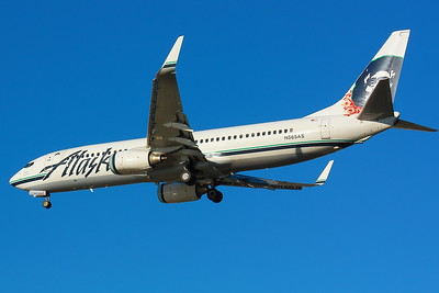 N565AS - Alaska Airlines -  Boeing 737-890  - On Final for KSEA (Seattle/Tacoma International) Runway 34C