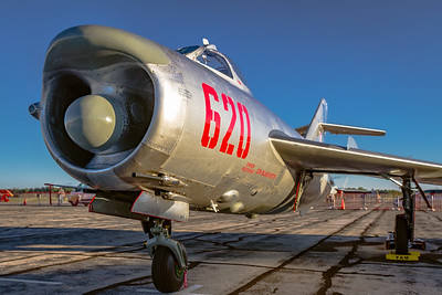Catching the 'Morning Light' - Mig-17PF 'Fresco' D