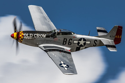 Beauty in Flight - Jim Rousch's P-51 Mustang 'Old Crow'