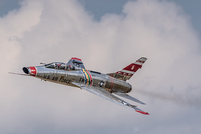 First of the 'Century Series' Fighters! - Collings Foundation's Classic North American F-100F 'Super Sabre'