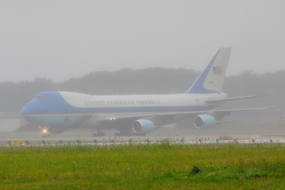 'Air Force One' - It's Raining in Cleveland!