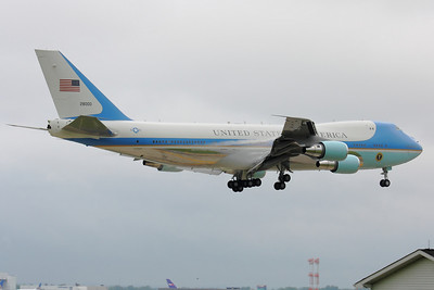 'Air Force One' - Over the Fence CLE 24R