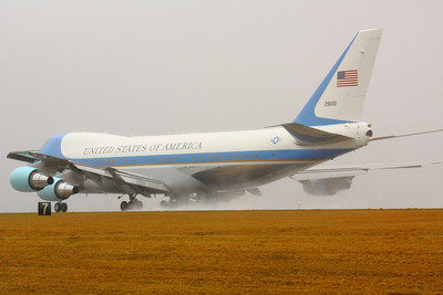 SAM 29000 - 'Air Force One' Departing on CLE 6L!