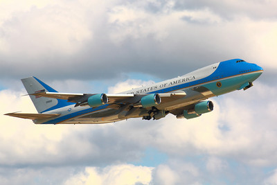 SAM29000 - As 'Air Force One' - Departing CLE from Runway 24L!  © 2010 Paul L. Csizmadia  All Rights Reserved  No Use Allowed without Permission