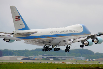 'Air Force One' - Arriving in Cleveland!