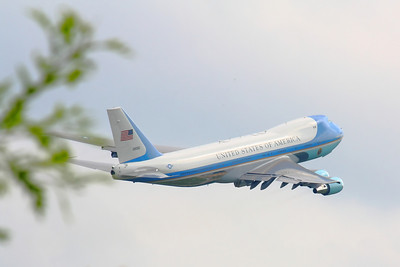 'Air Force One' - Up! Up! and Away!