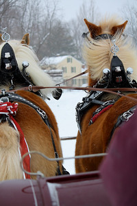 Riding thru the Snow!
