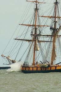 Flagship 'Niagara' - Catching a Wave!