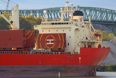 "Superstructure - ""M/V Federal Asahi"""