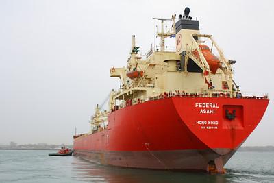 """""""M/V Federal Asahi""""-Port Stern"""