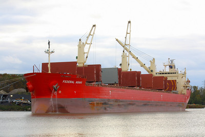 """M/V Federal Asahi"" - Salty on the River!"