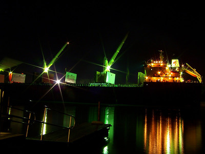 """Federal Oshima"" at Night!"