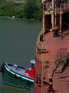 Tug at the Port Bow!