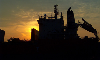 """M/V Federal Yukon"" Sunrise!"