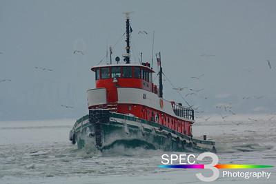 Tug 'Ohio' - Breaking Ice at 107!