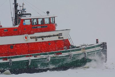 G-Tug 'Ohio' - 107 Years and Still Plowing Through Ice & Snow!