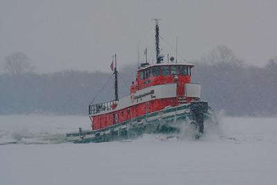 Through Ice & Snow!