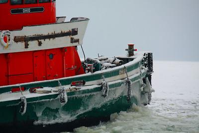 Ice Breaking on Sandusky Bay!