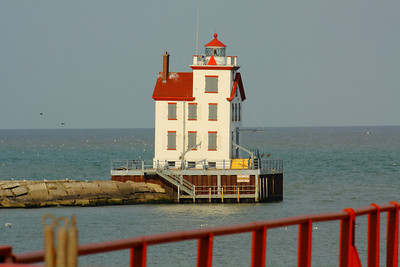 Lighthouse View - On Deck at the Rail!