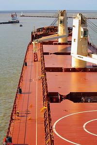 'M/V Federal Katsura' - On the Port Side 'Bridge Wing'