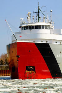 'S.S. Arthur M. Anderson' - Classic Bow Lines of a 'Laker'!