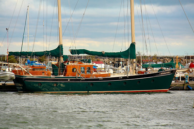 'S/V Resolution' - A Metal Hulled 50 ft 'Staysail' Ketch!
