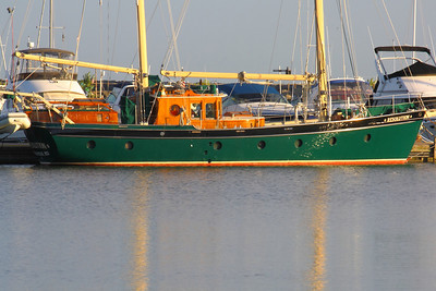 """""""S/V Resolution"""" - A 'Ketch' in the Morning Sun!"""