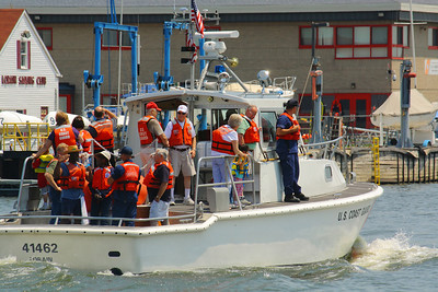 USCG Station Lorain - Open House Boat Rides on the 41 ft UTB!