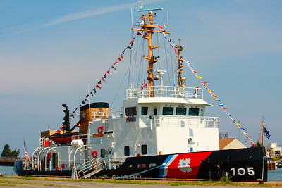 USCG Cutter 'Neah Bay' - Visiting Lorain, Ohio!  © 2010 Paul L. Csizmadia  All Rights Reserved  No Use Allowed without Permission  USCG Cutter 'Neah Bay' dockside on a sunny Sunday morning in Lorain, Ohio.  A member of the Coast Guard's 140-foot Icebreaking Tug (WTGB) - Bay Class, state of the art icebreakers used primarily for domestic ice breaking duties. They are named after American Bays and are stationed mainly in Northeast U.S. and Great Lakes.  Home port of the  'Neah Bay' is Cleveland, Ohio.  She was in town providing tours this weekend for Lorain's Port Fest.