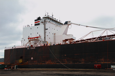 'St. Clair' - 'Fitting Out' - Toledo, Ohio  © 2013 Paul L. Csizmadia  All Rights Reserved  No Use Allowed without Permission