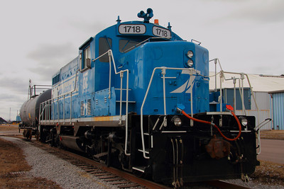 Toledo Junction Railroad #1718 (ex-CSX) - Uceta GP16  © 2013 Paul L. Csizmadia  All Rights Reserved  No Use Allowed without Permission