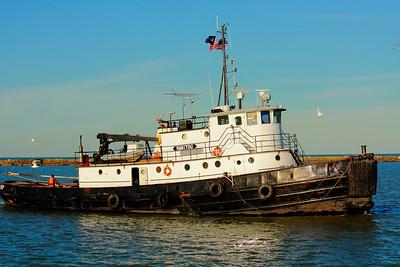 Tug 'Manitou'  - Lorain Harbor!