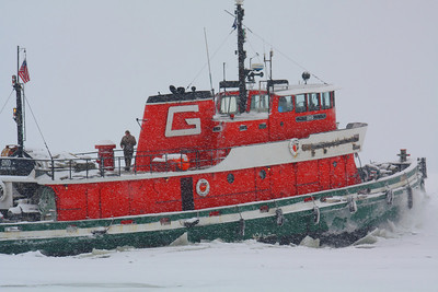 Wintry Work on the Great Lakes!