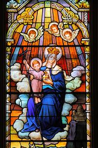 'Mary Help of Christians' (Sancta Maria Auxilium Christianorum) - Detail