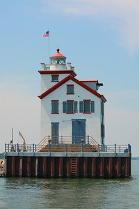 Lorain's West Breakwater Lighthouse - Another View