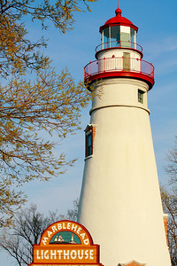 Touch of Spring at Marblehead Light!