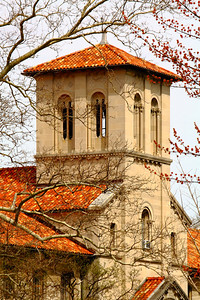 The Tower - Bosworth Hall and Fairchild Chapel, Oberlin College