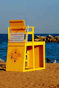 The Lifeguard's Chair!