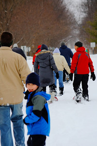 Snowshoe Trekking the North Coast Inland Trail!