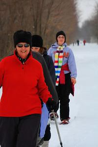 Snowshoe Hiking Fun!