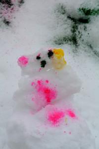Snow Art!