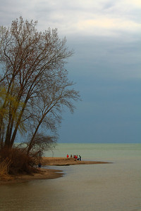 Darkening Skies - 'Old Woman Creek' Estuary!