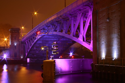 """The Charles Berry Bridge"" - Bathed in It's Nightly Light!"