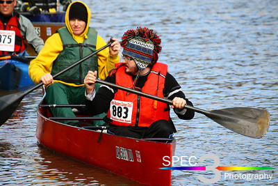 Canoers ' Ready and Set'! Keel-Haulers 'Vermilion River Race' 2011   © 2011 Paul L. Csizmadia / Spec3 Photography  All Rights Reserved  No Use Allowed without Permission