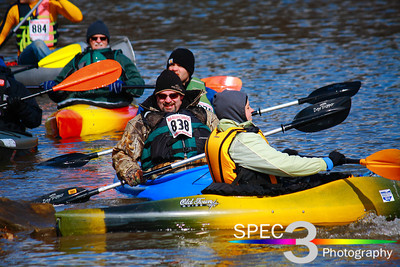A Colorful Bunch! Keel-Haulers 'Vermilion River Race' 2011  © 2011 Paul L. Csizmadia / Spec3 Photography  All Rights Reserved  No Use Allowed without Permission