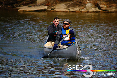Canoers Headed for the Finish! Keel-Haulers 'Vermilion River Race' 2011  © 2011 Paul L. Csizmadia / Spec3 Photography  All Rights Reserved  No Use Allowed without Permission